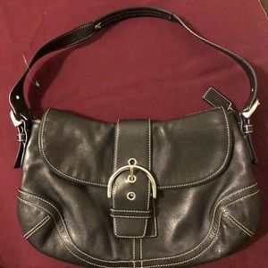 Coach Black Leather